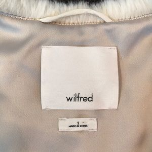 Wilfred Jackets & Coats - Wilfred faux fur vest
